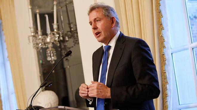 British ambassador Sir Kim Darroch