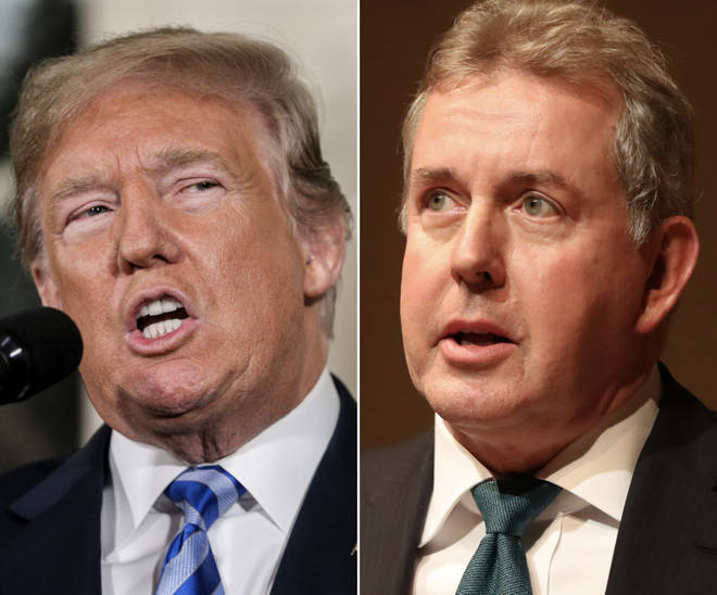 "Donald Trump abandoned the Iran nuclear deal in an act of ""diplomatic vandalism"", according to the latest leaked emails from Sir Kim Darroch"