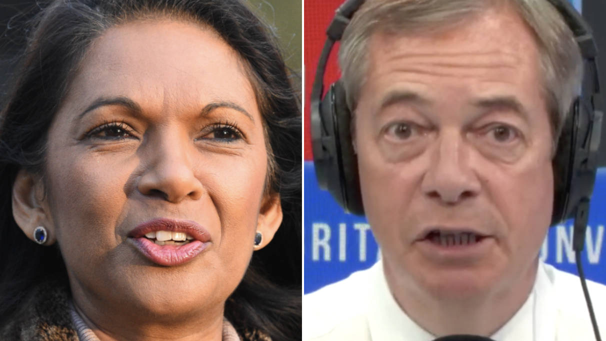 Nigel Farage's Reaction To Gina Miller's Legal Action Against Proroguing Parliament