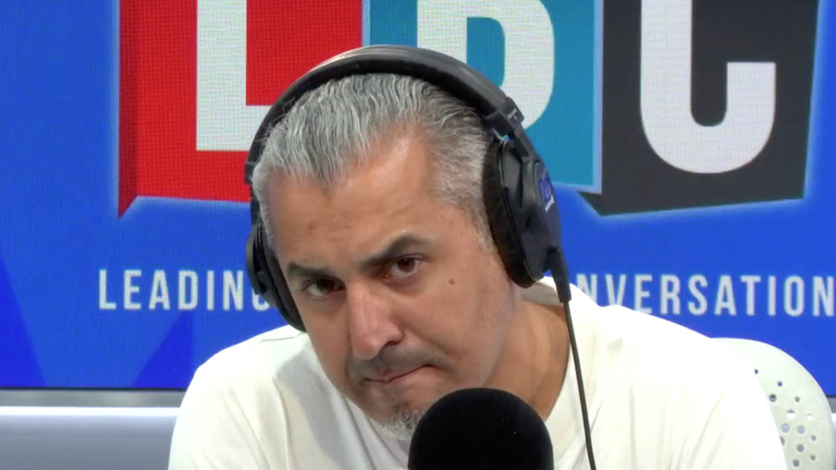 Caller Quits Labour Party On LBC Over Anti-Semitism