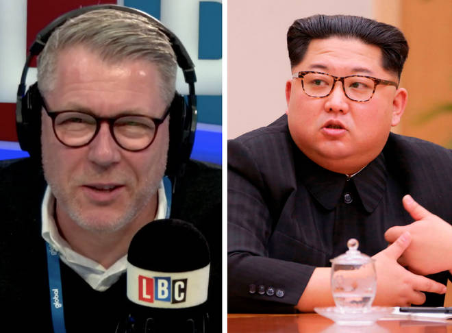 Ian Collins, Kim Jong-un