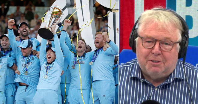 Nick Ferrari hailed England's Cricket World Cup heroes
