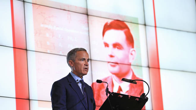 Mark Carney announces Alan Turing as scientist to appear on new £50 note
