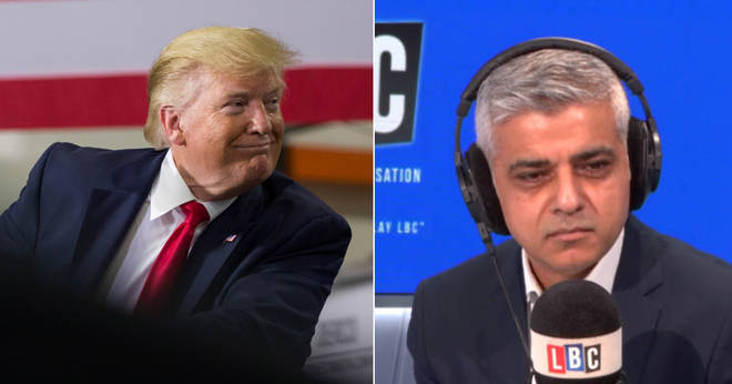Sadiq Khan had some strong words for Donald Trump