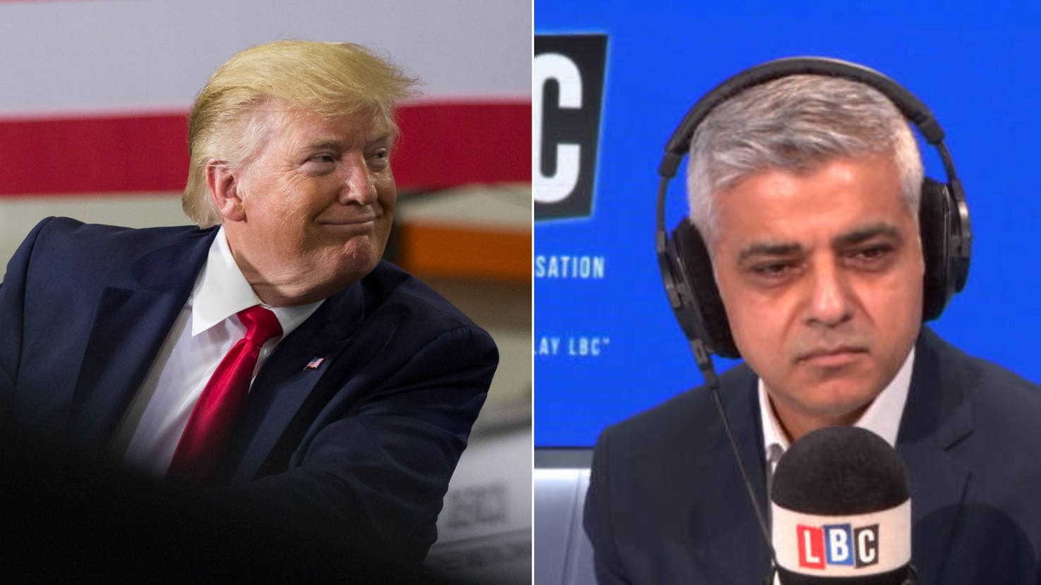 Sadiq Khan: Trump's Words Are The Words Of A Racist