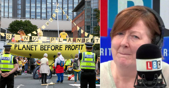 Shelagh Fogarty's caller got furious about the Extinction Rebellion protests