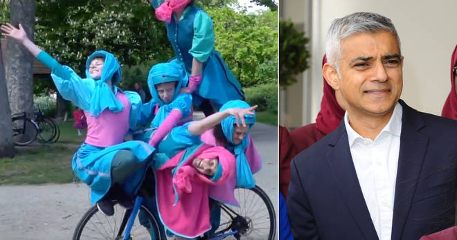 Sadiq Khan's team spent £30,000 on bicycle ballet