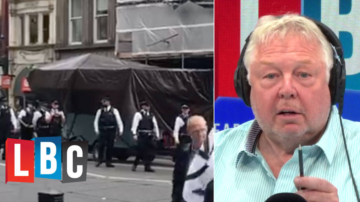 Nick Ferrari Fumes At Police Inaction At Extinction Rebellion Protest