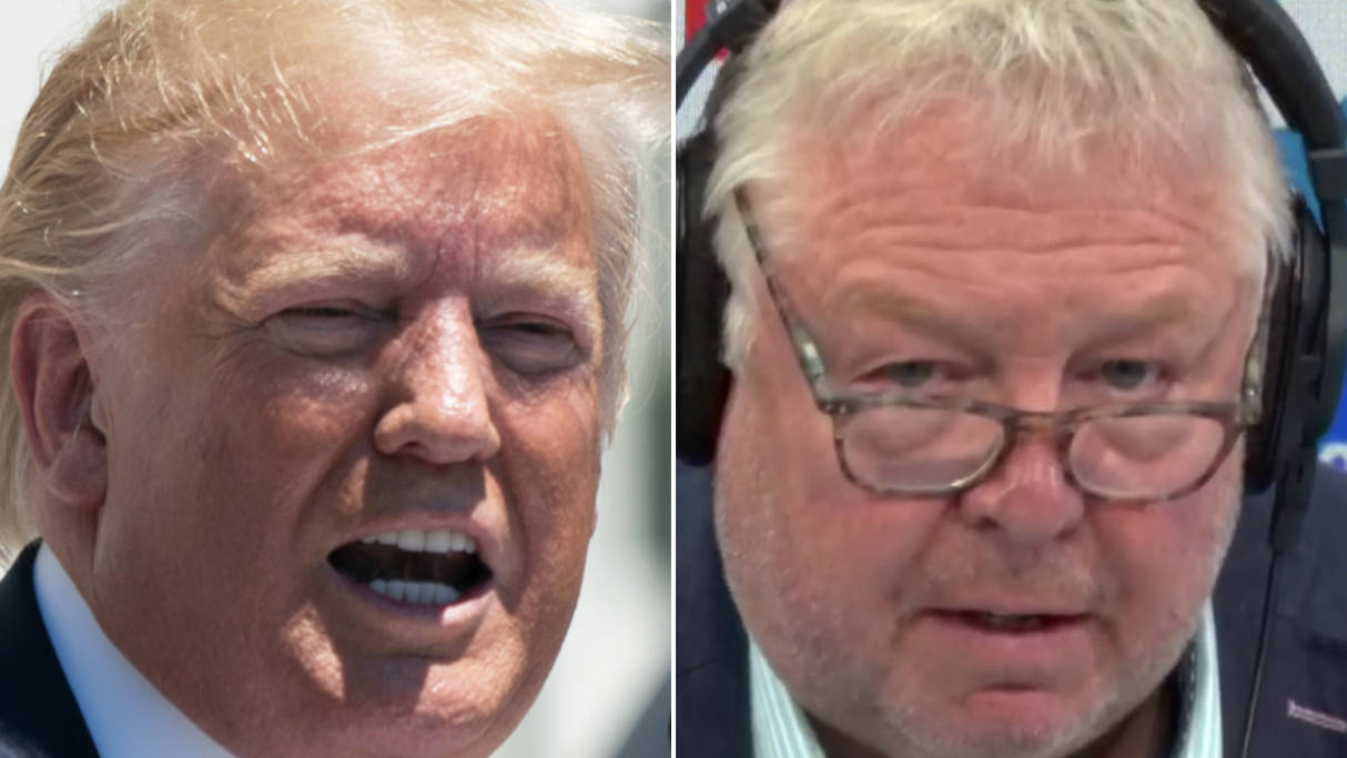 Nick Ferrari Rows With Caller Who Doesn't Think Trump Tweets Were Racist
