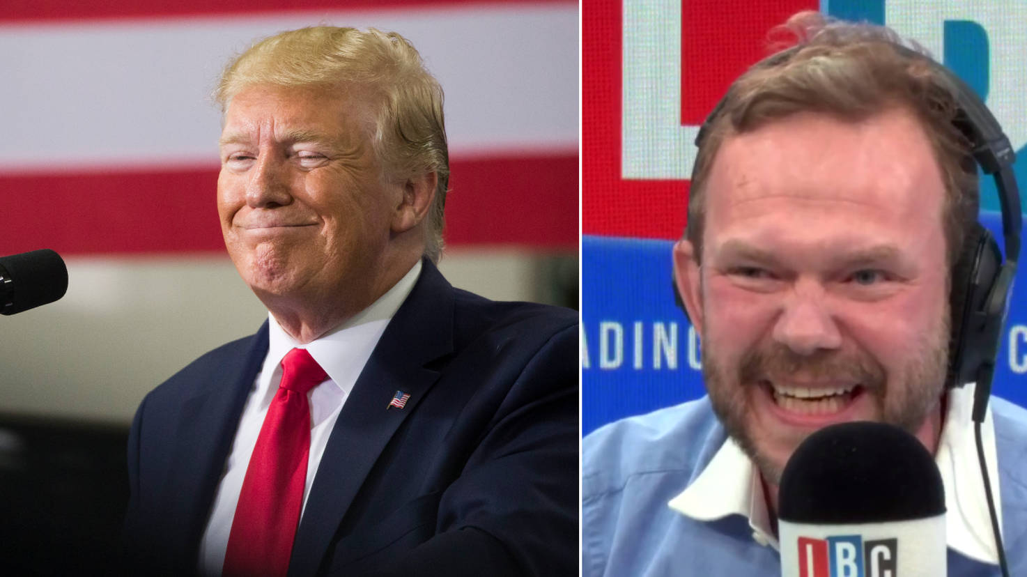 Trump Caller Hilariously Falls Apart On Simplest Of Questions From James O'Brien