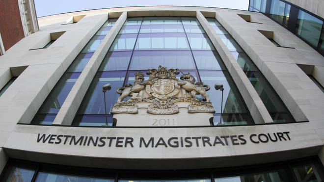 A man and woman charged with terrorism offences appeared at Westminster Magistrates' Court - file photo