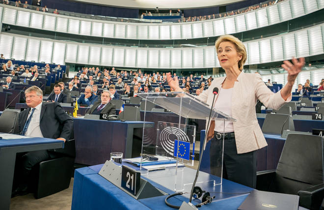 Ursula von der Leyen is the new EU Commission President