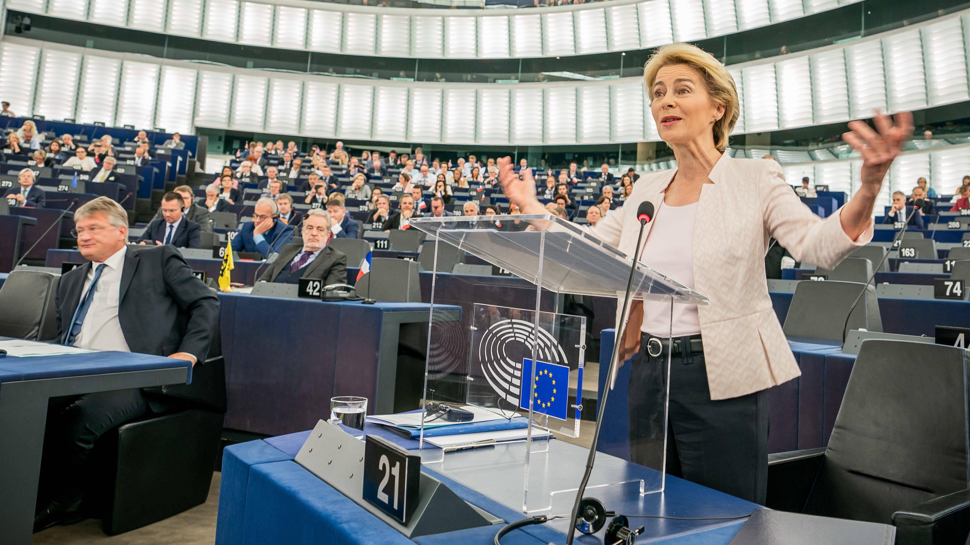 Ursula Von Der Leyen Makes History As First Female EU President