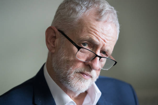Labour peers have released an advert accusing their leader of anti-Semitism