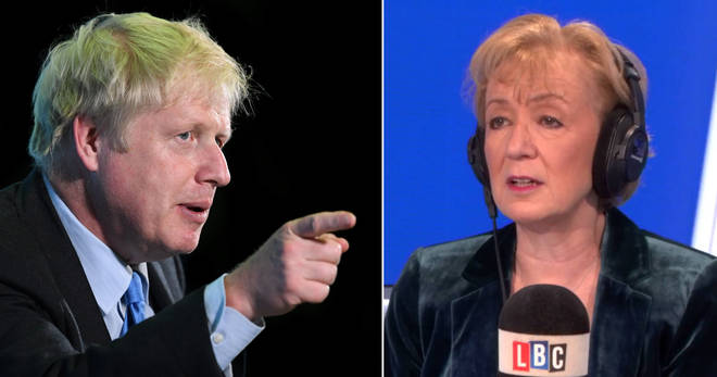 Did Andrea Leadsom hint at Boris Johnson's Brexit plan?