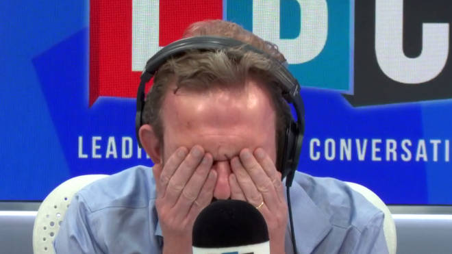 John in Chelmsford left James O'Brien with his head in his hands