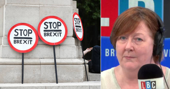 Shelagh heard this caller say he'd leave the UK after a no-deal Brexit