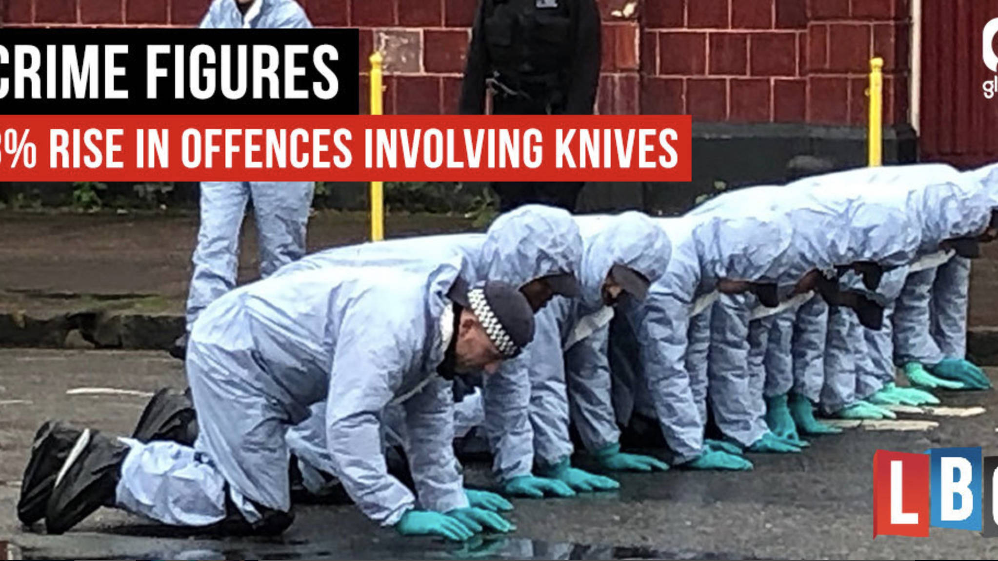 Knife Crime Hits All-Time High With Offences Up By 8%