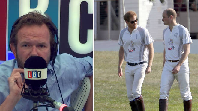 James O'Brien - Prince William and Harry