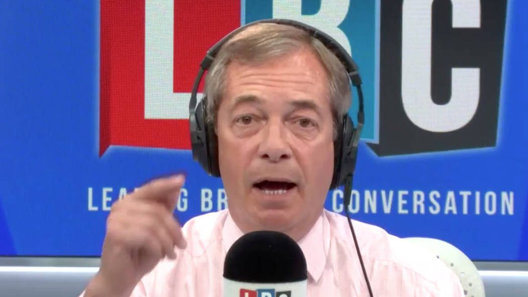"""Nigel Farage: If May Didn't Threaten No-Deal She's """"Betrayed"""" Brexit Voters"""