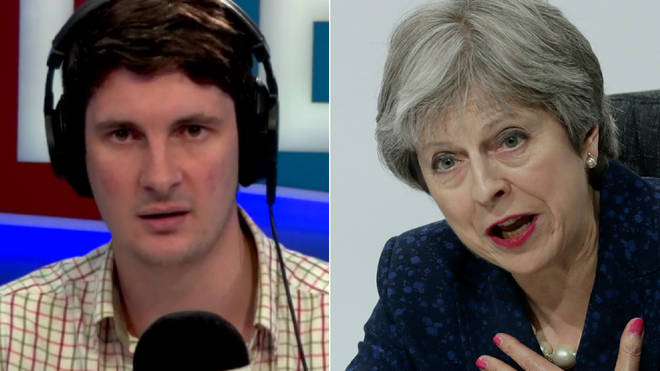 Tom Swarbrick had advice for Theresa May