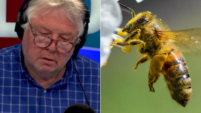 Nick Ferrari had some bad news for hay fever sufferers