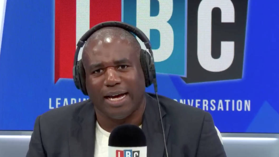 """Angry Brexiter Tells David Lammy Parliament Needs """"Clearing Out"""""""