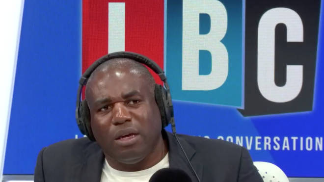 David Lammy was discussing stop and search