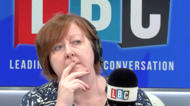 Shelagh Fogarty was speaking to a caller about daily racism.