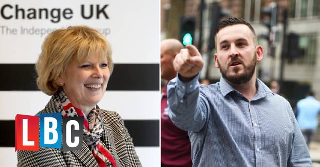 James Goddard called MP Anna Soubry a Nazi