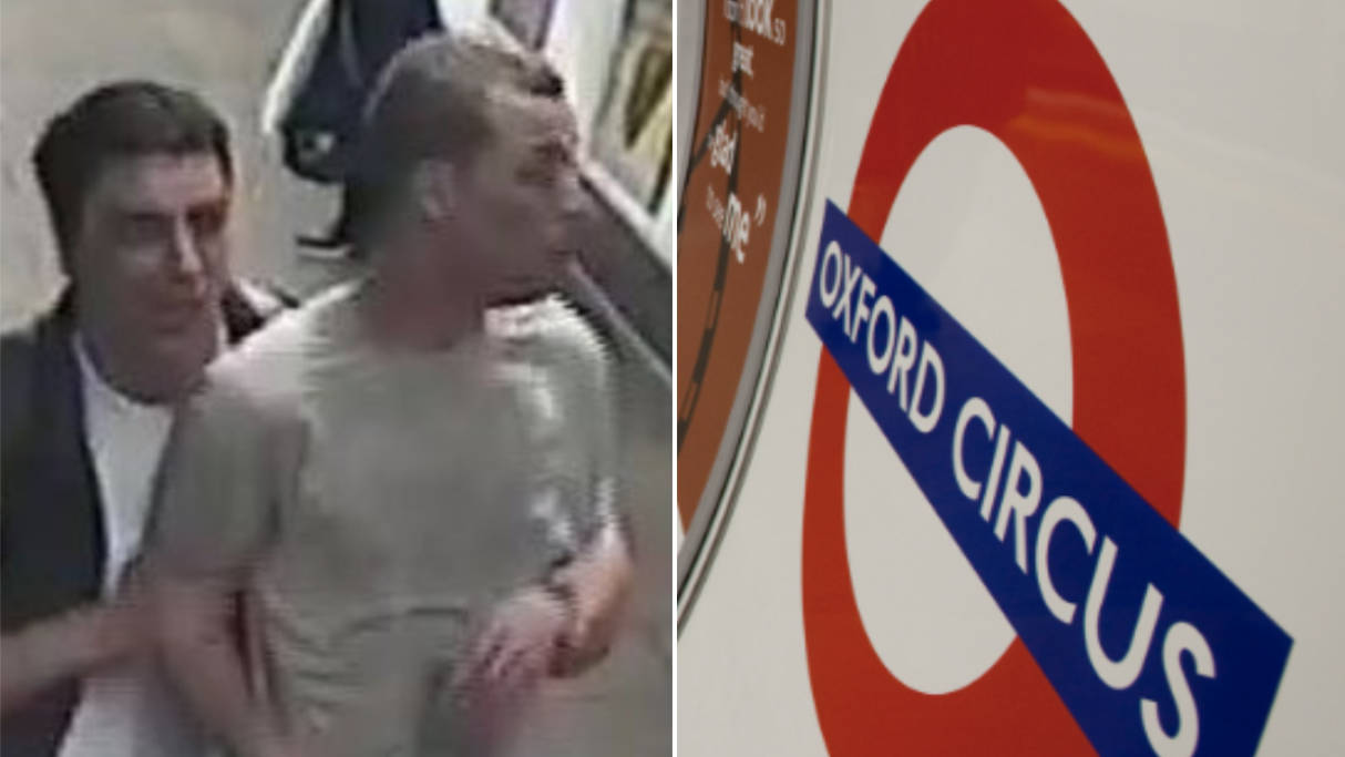 Police Appeal Hunt Two Men After 'CS Gas' Released On London Underground