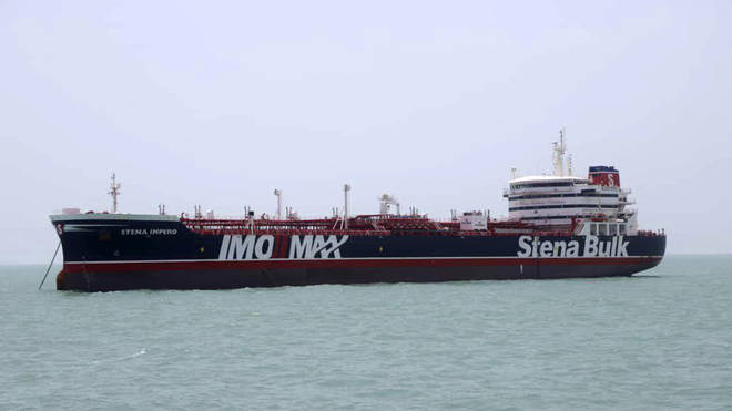 Oil vessel Stena Impero has been seized by Iranian authorities in the Persian Gulf