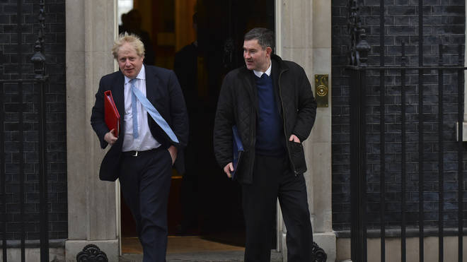 Boris Johnson and David Gauke