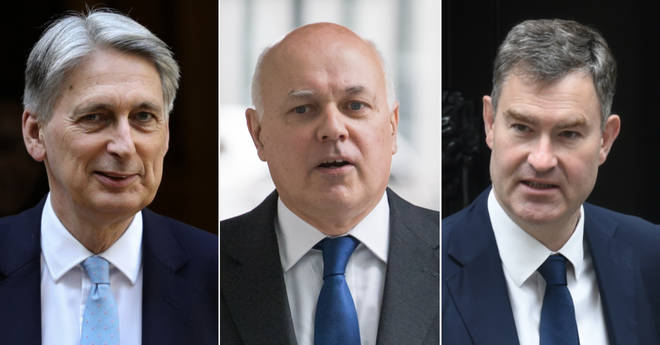 Philip Hammond, Iain Duncan Smith, and David Gauke
