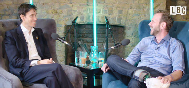 Rory Stewart with James O'Brien