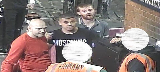 Police wish to speak to these three men
