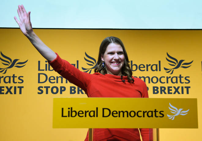 Jo Swinson is elected leader of the Lib Dems