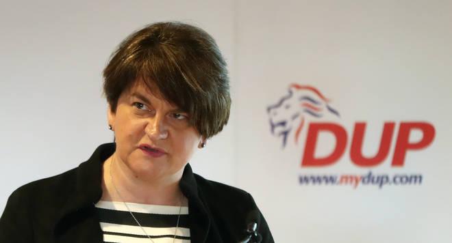 Arlene Foster: DUP Leader