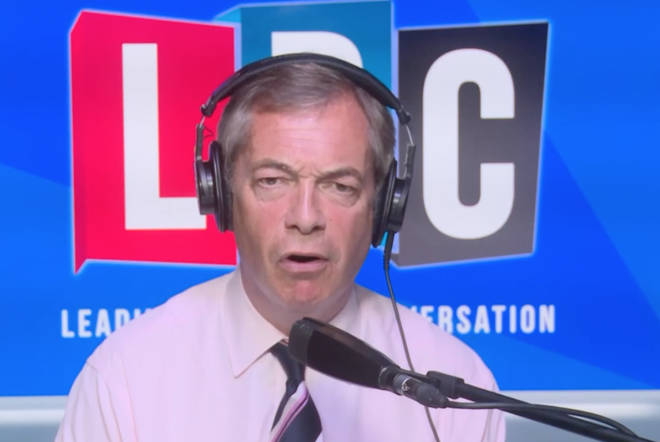 Nigel Farage ended up asking this Remainer the same question again and again