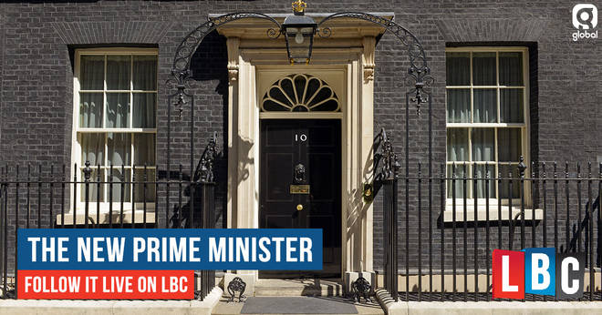 The new Prime Minister - follow it live on LBC