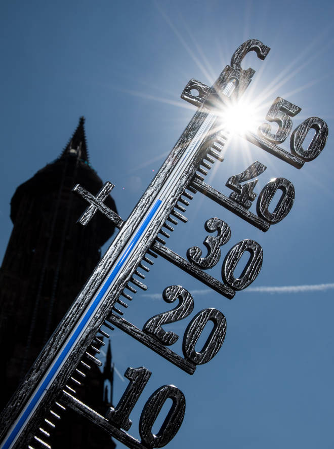 Temperatures are on the rise