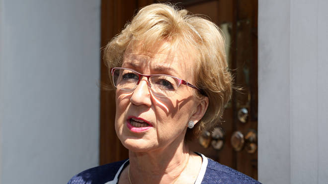 Andrea Leadsom backed Boris Johnson for Tory leader after being eliminated from the contest herself