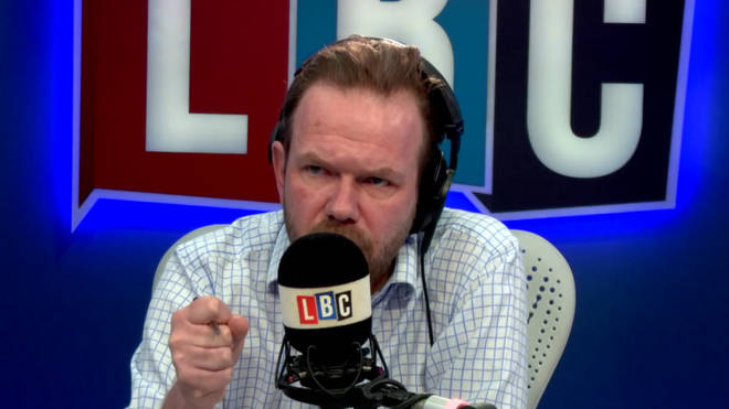 James O'Brien in the LBC studio