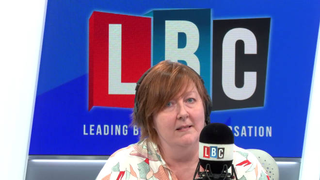 Shelagh Fogarty in the LBC studio