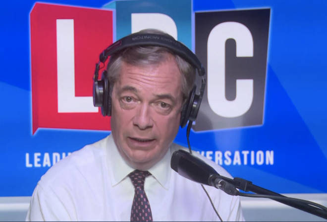 Nigel Farage spoke to Nigel Evans