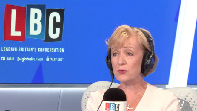 Andrea Leadsom was speaking to LBC