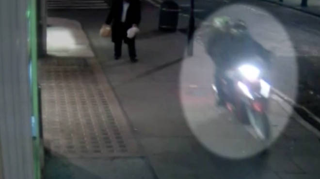 CCTV captured the spate of robberies in Westminster.