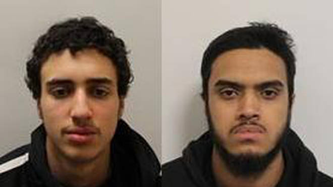 Hamza El-Guerbouzi and Joynul Ali were jailed after appearing at Southwark Crown Court last week.