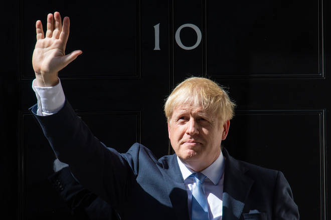 Boris Johnson promised to deliver Brexit on time