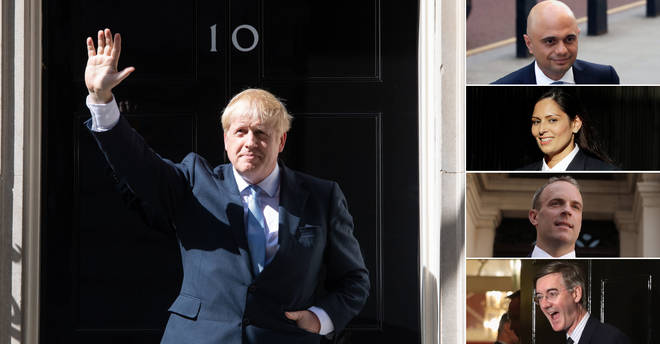 Boris Johnson has picked his top team